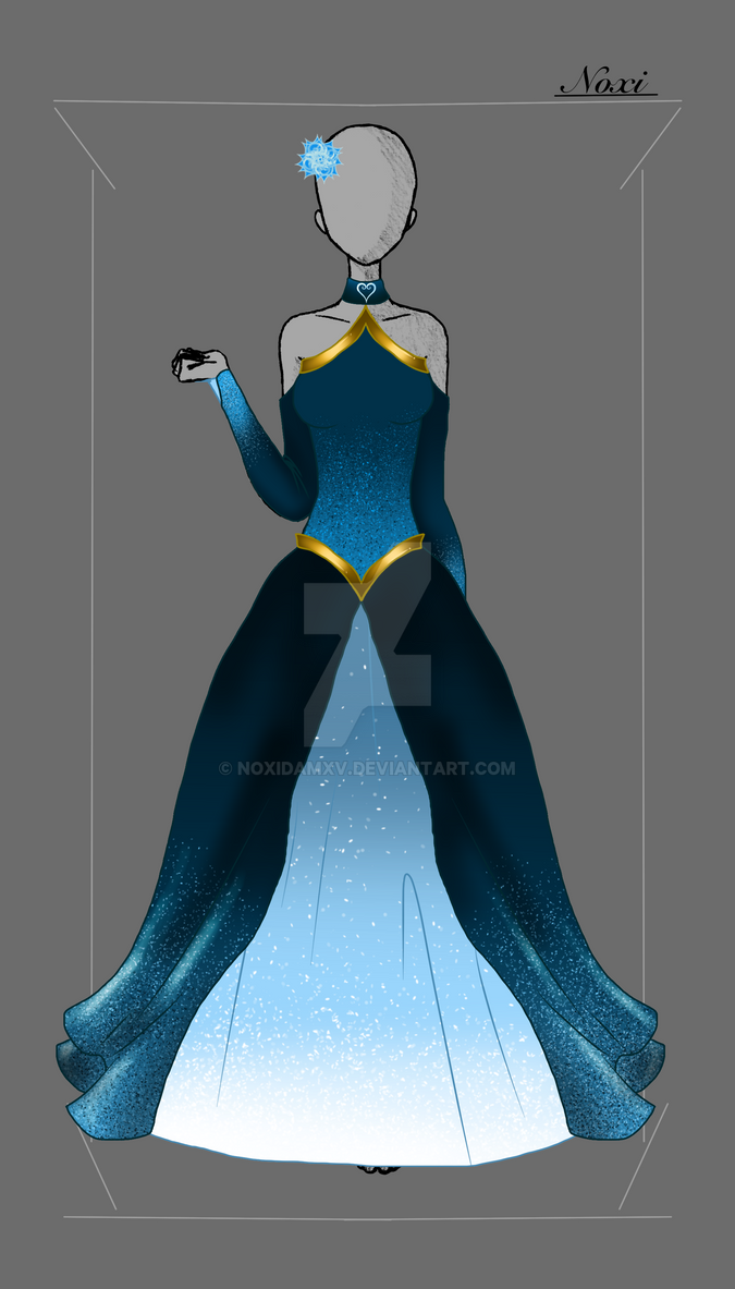 Grand Galloping Gala Dress by NoxidamXV