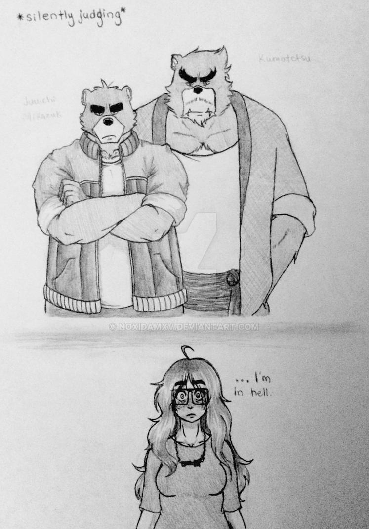 Bear Conflict by NoxidamXV