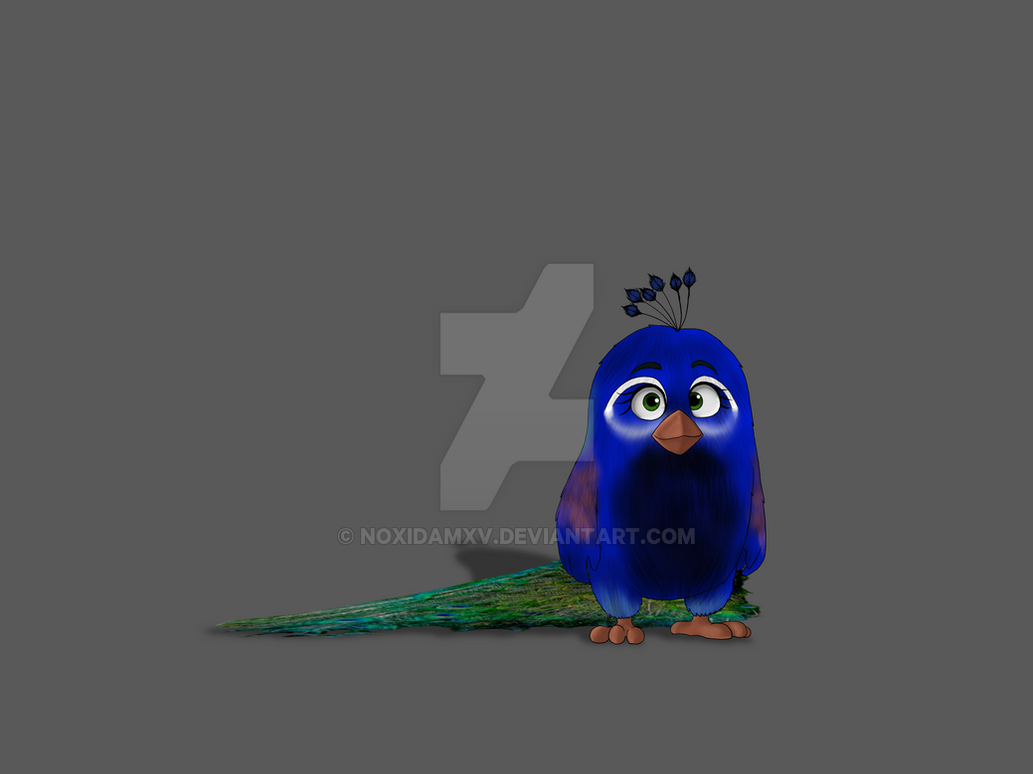 Angry Birds oc by NoxidamXV