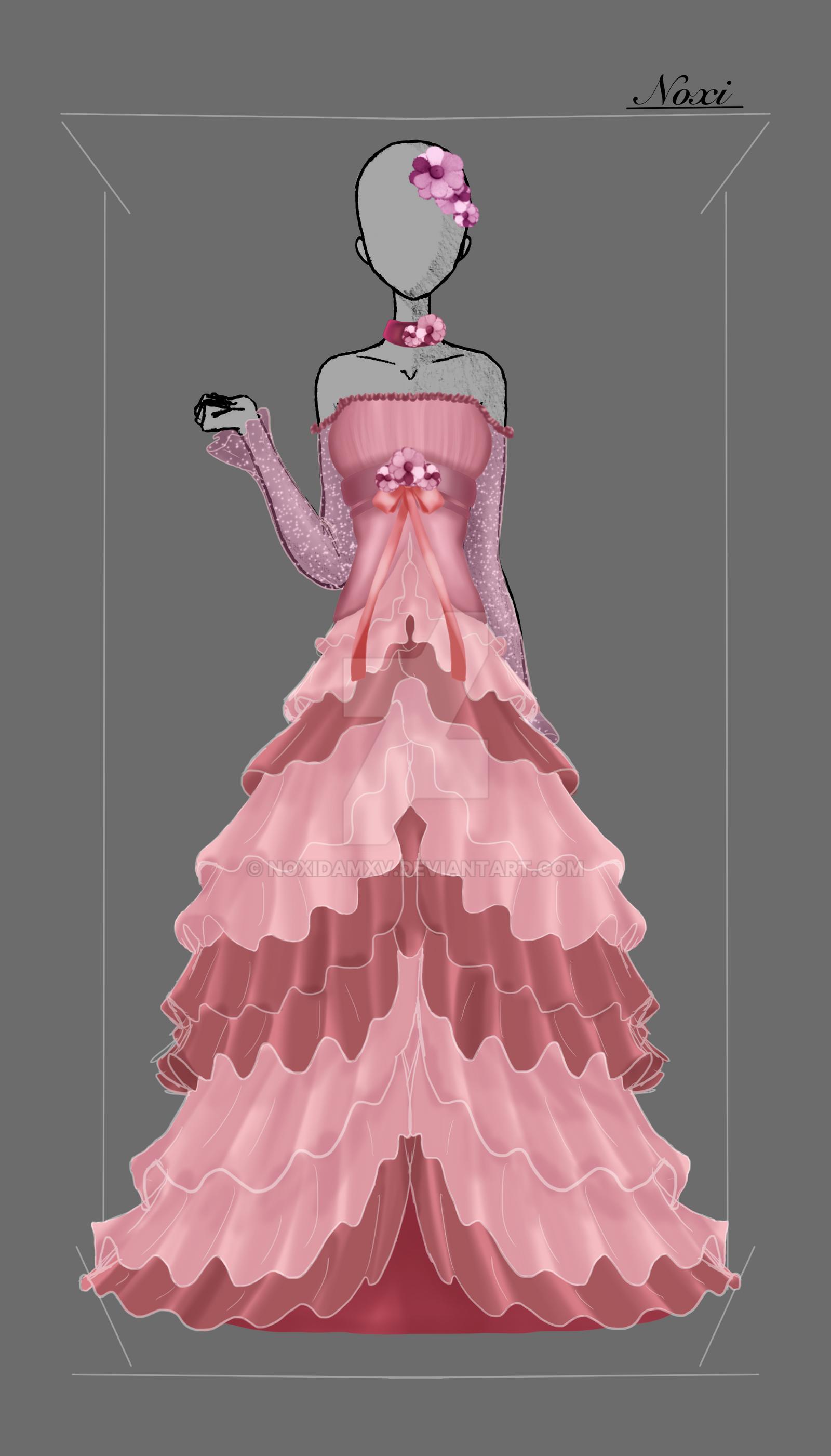 Dress Design: Trusts' Wedding Dress by NoxidamXV