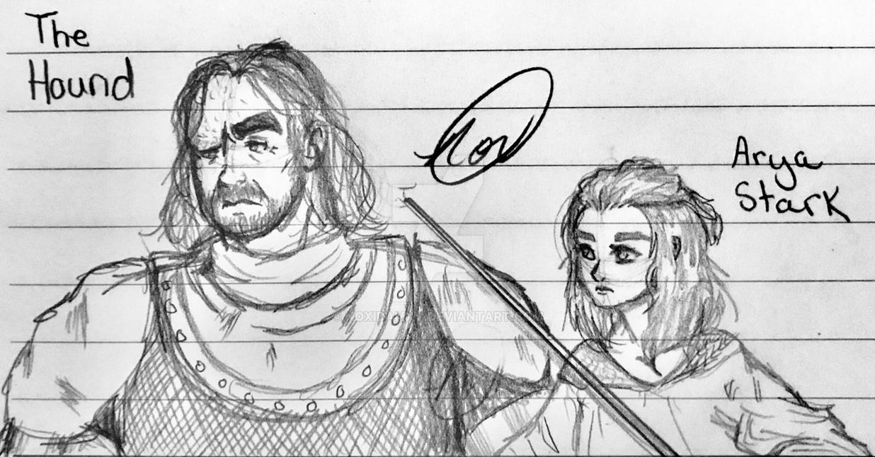 The Hound and the No-Faced Assassin by NoxidamXV