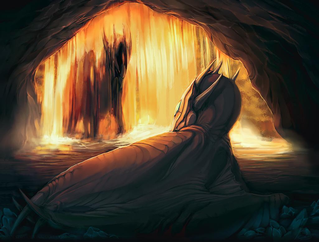 Hidden Refuge by IrisDesert