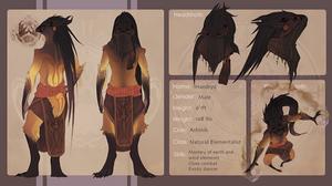 Akarion|Haedryd Ref by SunDier