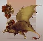 Comm| Ornstein dragon design