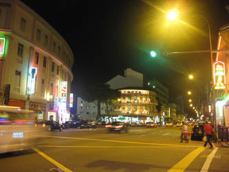 Singapore by Night by toshina