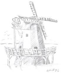 Windmill by toshina