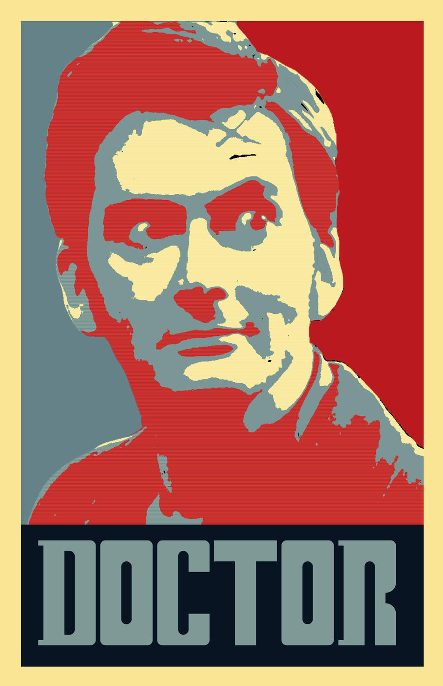 10th Doctor_Hope Parody Poster by bluepen731