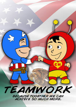 Super Hero Teamwork