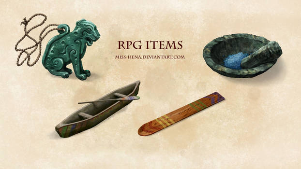DSA: RPG Items (Jungle)