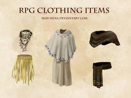 DSA: RPG Clothing Items (Jungle)