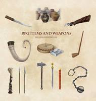 DSA: RPG Items and Weapons (Thorwal)