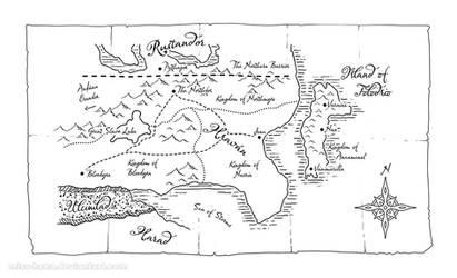 Map Art: Hravan