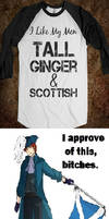Tall,ginger and scottish
