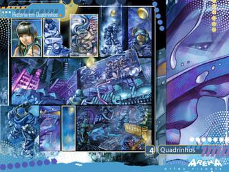 Quadrinho-Azul-Folhateen by AndreVazzios