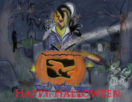 Halloween poster-13: HAPPY HALLOWEEN