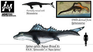 JURASSIC MONTH- Aqua-Spinus