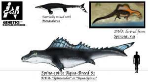 JURASSIC MONTH- Aqua-Spinus by Taliesaurus