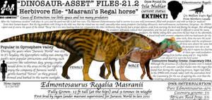 Dinosaur asset files-edmontosaurus (variant 2)