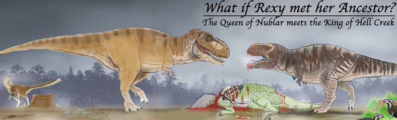 JP WHAT IF: What if Rexy met her Ancestor?