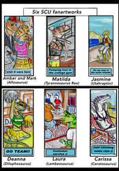SCU FAN-ART POST 42: 6 Mini-Artworks