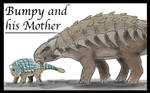 Camp Cretaceous: Bumpy and his Mother