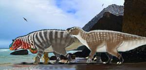 Paleoart: IGUANODON BERNISSARTENSIS