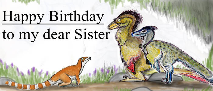 BIRTHDAY CARD FOR MY SISTER