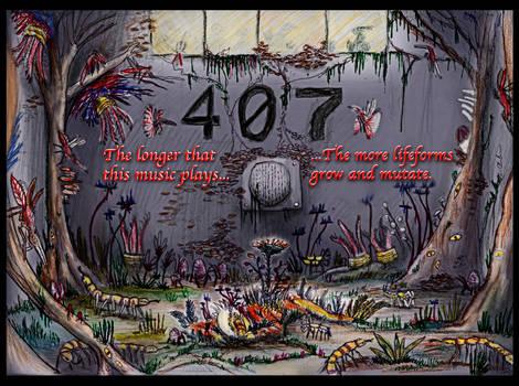 HALLOWEEN POSTER (2021) 1- SCP: 407