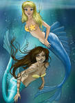 Secret Santa 2009: Mermaids by Angel-Creations