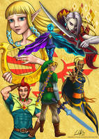 Zelda: Skyward Sword by Angel-Creations