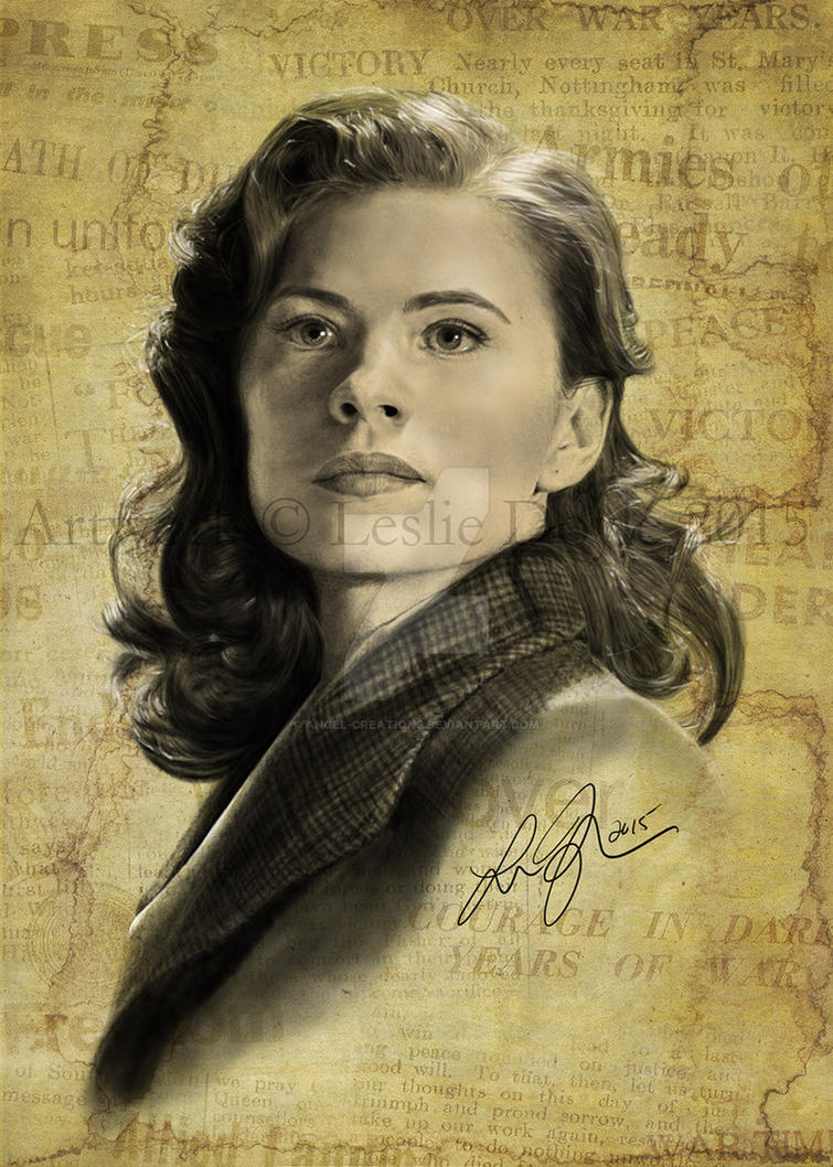 Agent Carter 'I Know My Value' by Angel-Creations