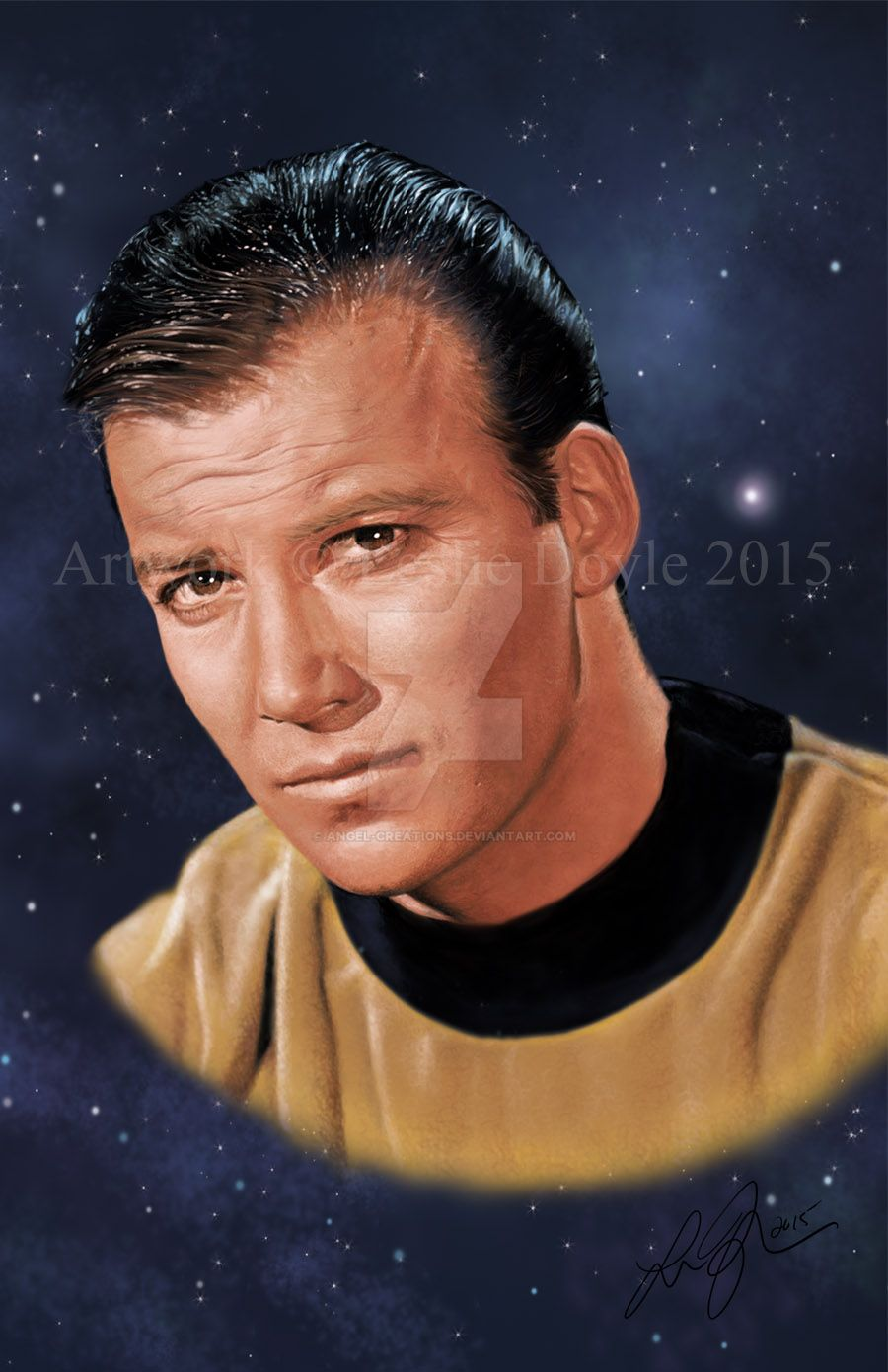 James T. Kirk: The  First Captain by Angel-Creations