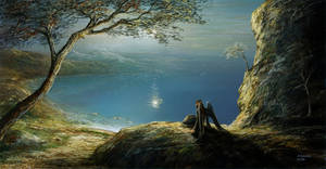 Whispering of the melancholy by andrekosslick