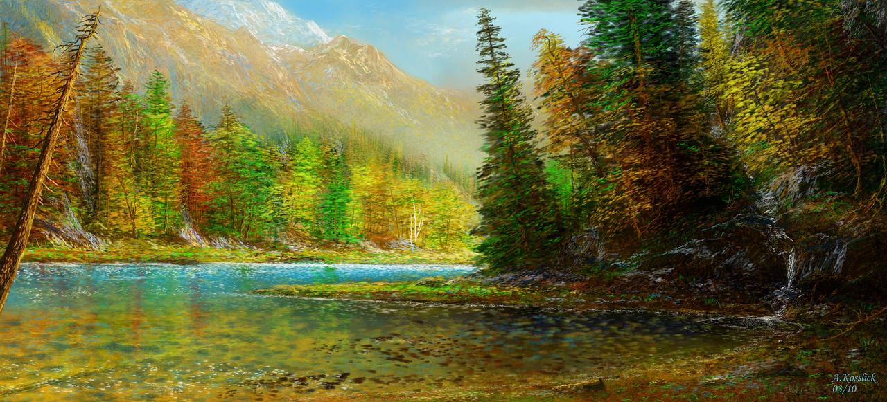 my dream lake by andrekosslick