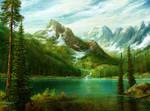 study mountain romantic VII