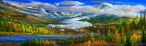 study Denali mountain range