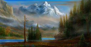 study misty mountain gothic