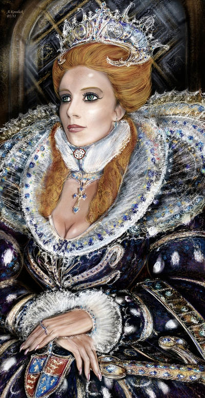 Elisabeth of Tudor England 2 by andrekosslick