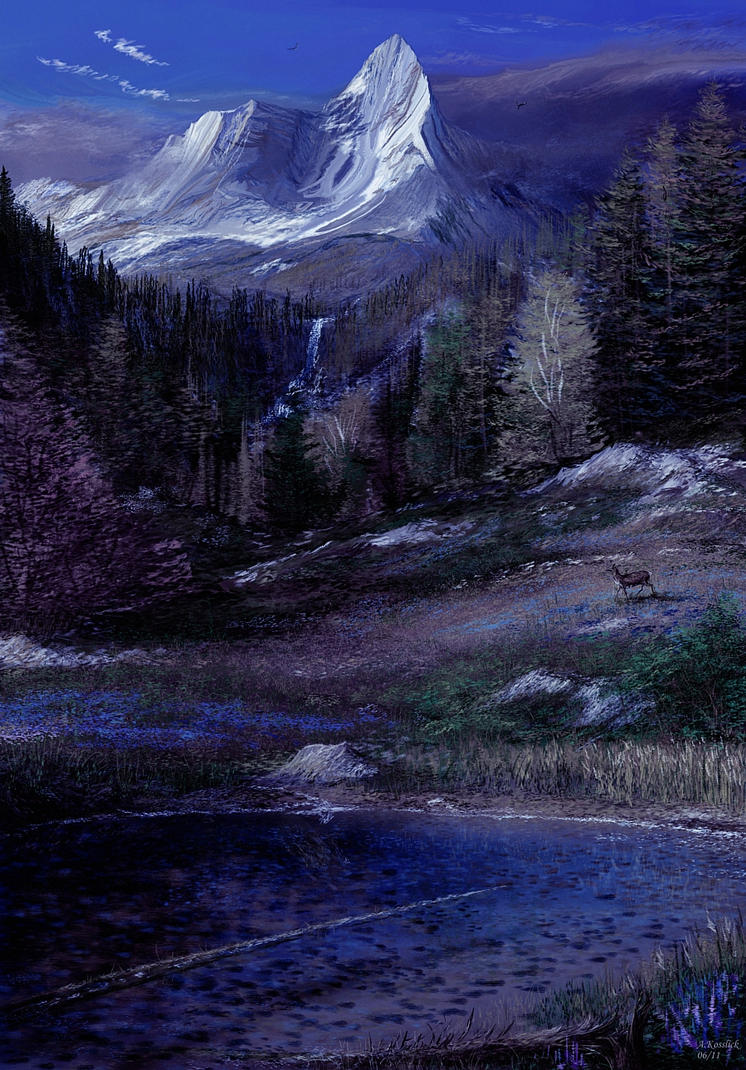 My Dream Lake 1 By Andrekosslick On Deviantart