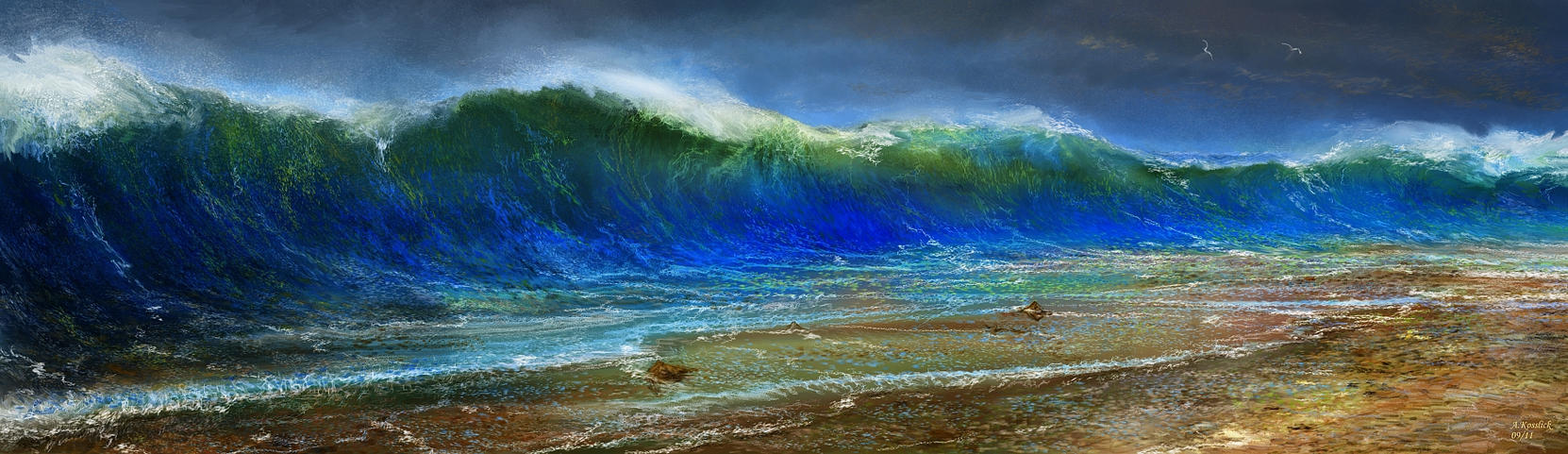 a study of waves Meditation-and-hd the practice of  monks are invaluable because the study of trained meditators can provide  types of brain waves and also contains several.