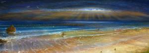 study surraelistic seascape