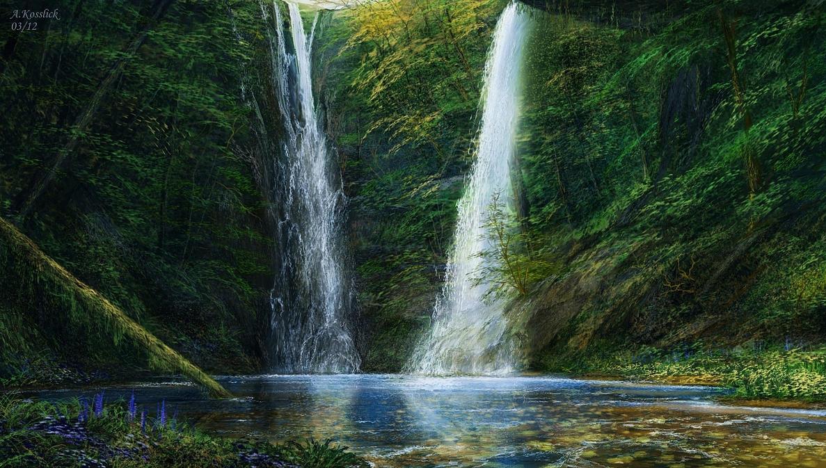 my emerald creek study by andrekosslick