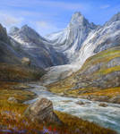 attempt of a alps valley scene 1