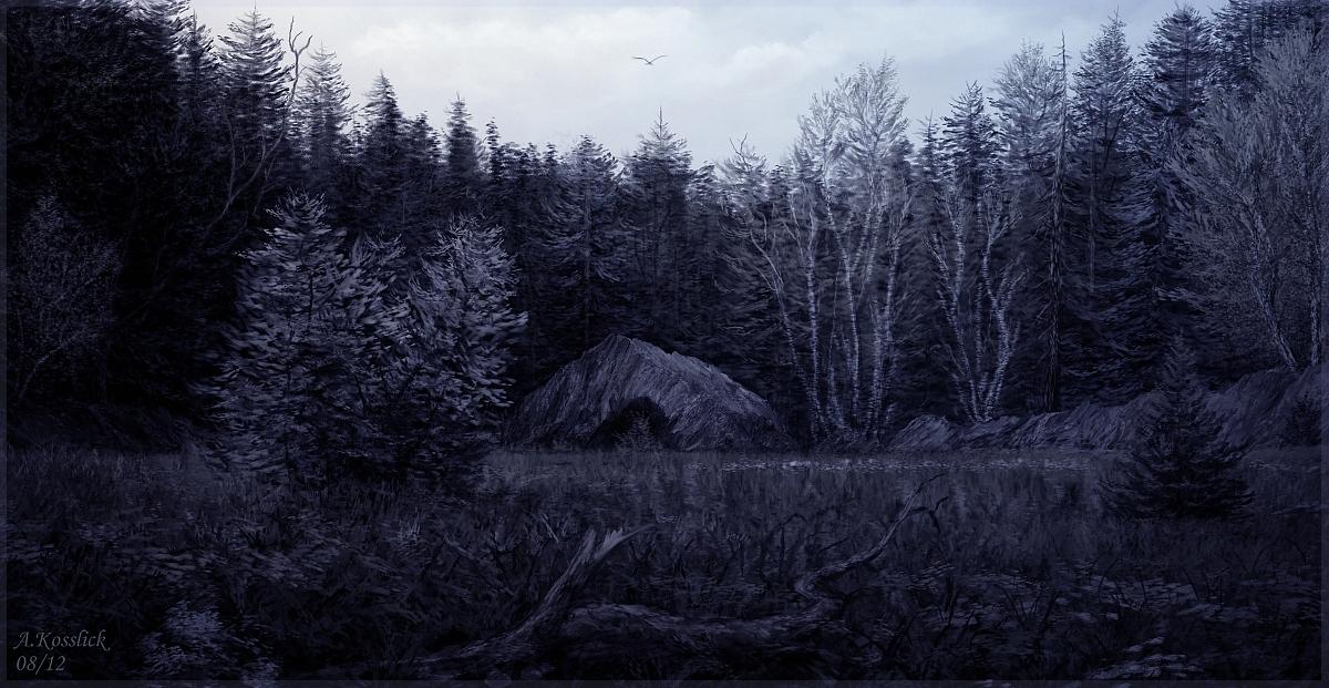 my grave field 1 by andrekosslick