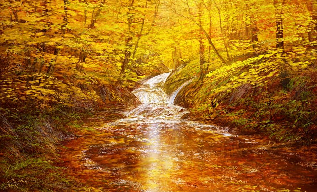 creek attempt VII by andrekosslick