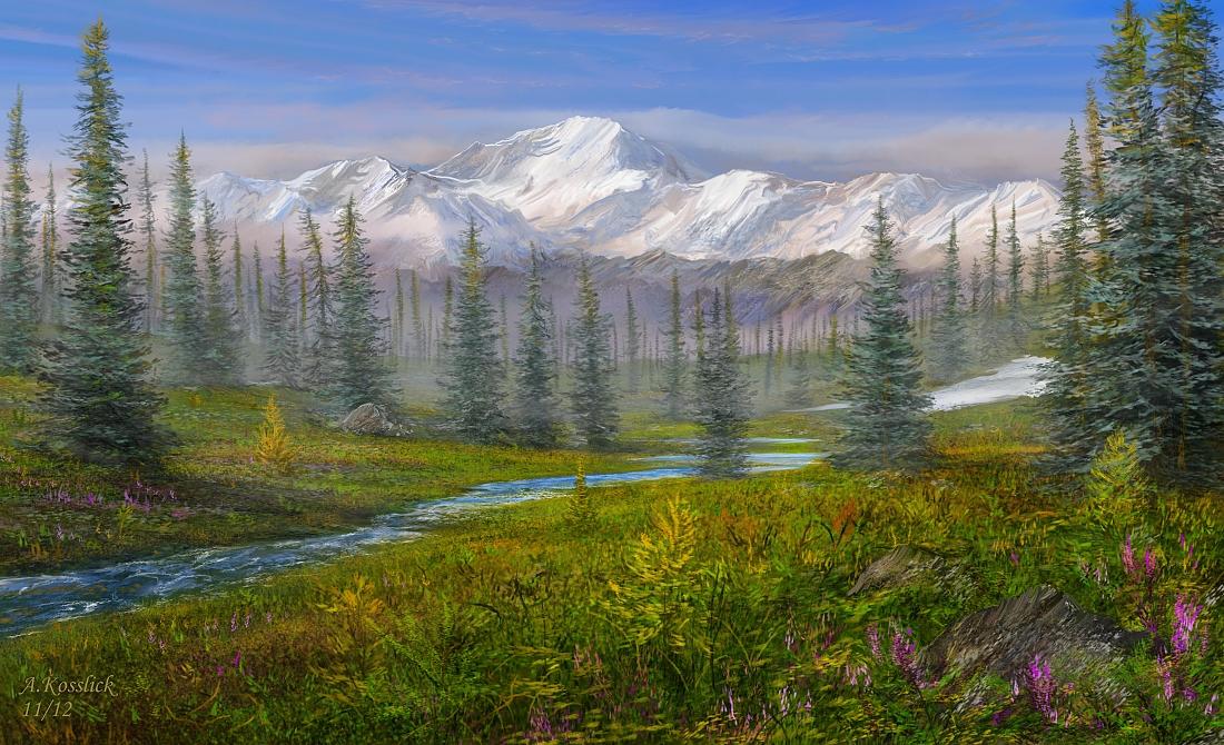 Resultado de imagen de LA TAIGA de alaska