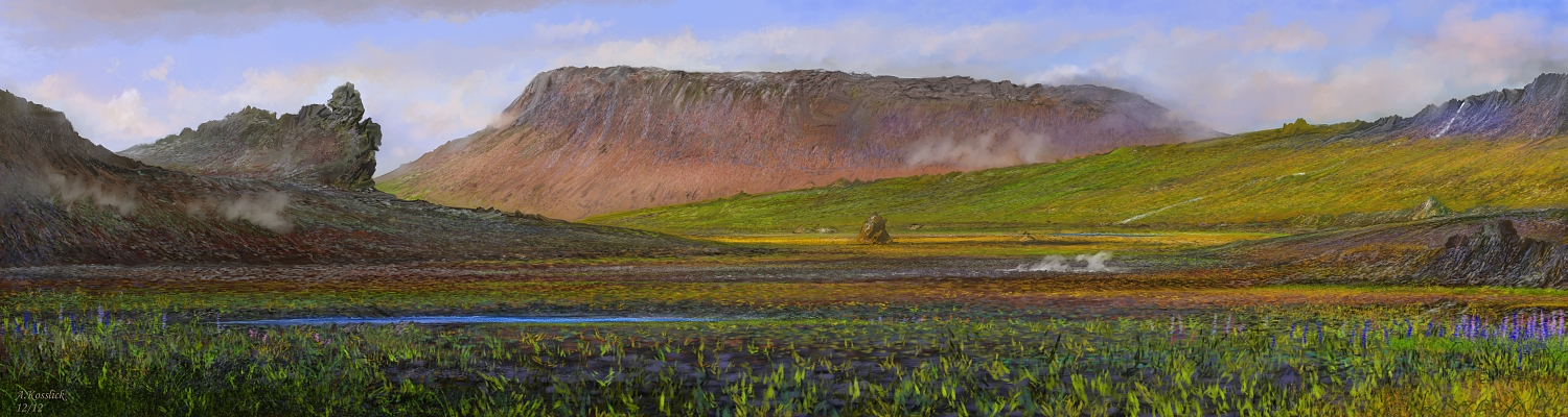 iceland lava valley attempt 3 by andrekosslick
