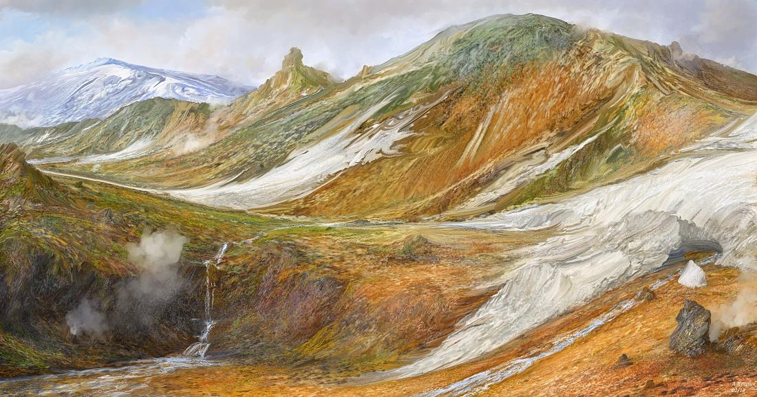 volcanic iceland landmannalaugar attempt 3 by andrekosslick