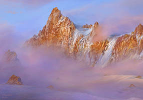 study of mountains 2a