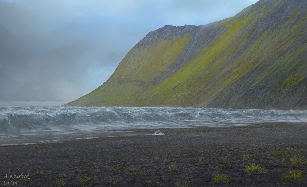 iceland ashes coast attempt1a by andrekosslick